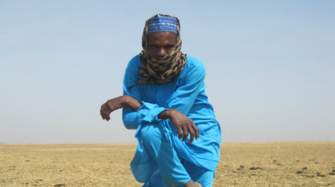 Herder Striking a Pose