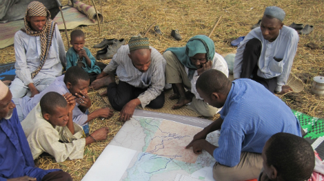 Sharing preliminary results with pastoralists